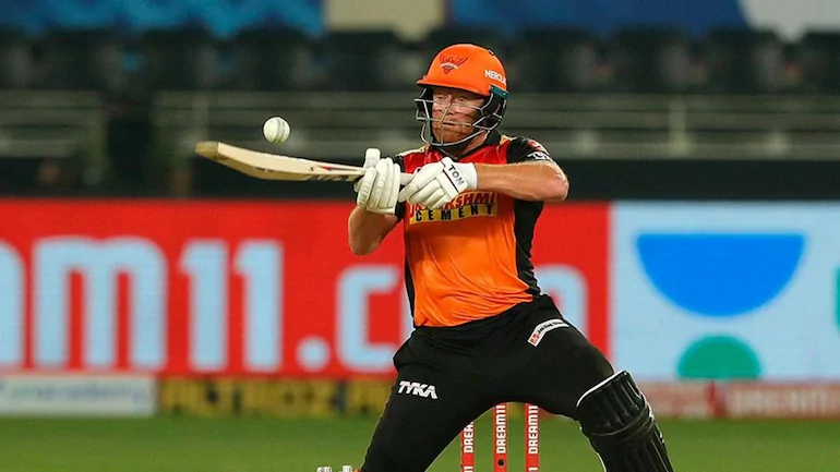 Sunrisers Hyderabad was given a great start by the openers Jonny Bairstow and Kane Williamson today. While Bairstow played brilliant innings of 36 runs off 26 balls, Williamson opened today for the SRH, unlike previous matches, and stormed the KKR bowlers with his quick innings of 29 runs off 19 balls. The next batsman in line, Priyam Garg failed to impress as he lost his wicket after making just 4 runs today. Skipper David Warner and Manish Pandey came to the crease to save the sinking ship of SRH after a great start by the openers today. However, Pandey disappointed the SRH as he lost wicket after making just 6 runs today. After Pandey's wicket, Vijay Shankar joined the skipper in chasing down the score given by KKR to chase. Both the skipper and Shankar took their time to adjust and played with vigilance today. While Warner played an innings of runs off balls, Shankar lost wicket after making 7 runs off 10 balls. Abdul Samad's explosive innings of 23 runs off 15 balls kept the hopes of SRH for the victory alive till the very end. Lockie Ferguson shined for the KKR as he grabbed 3 crucial wickets today in his spell of 4 overs while also being the most economical bowler of the lot.
