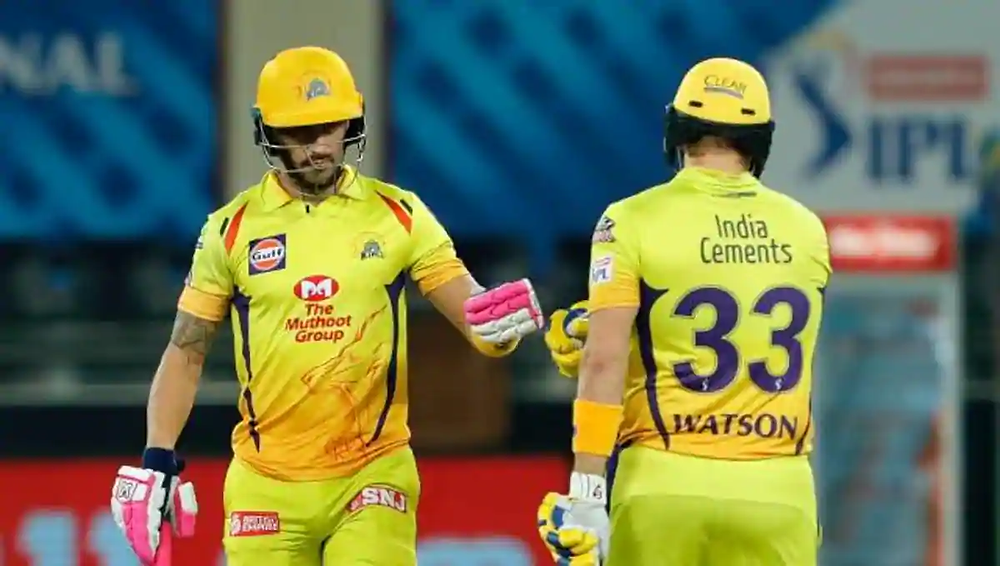 In the 18th match of the Indian Premier League (IPL), CSK makes a comeback by a massive victory against Kings XI Punjab (KXIP) by 10 wickets at Dubai International Cricket Stadium. Faf du Plessis and Shane Watson's incredible partnership helped CSK chase down the target of 179 runs given by KXIP. Plessis scored 87 runs off 53 balls while Watson scored 83 runs off balls aided 3 by sixes and 11 fours. KL Rahul played a wonderful innings with a knock of 63 runs off 52 balls. With tonight's win against KXIP, CSK now stand at the 6th position in the points table of the current season of IPL.