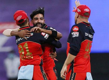 IPL 2020, KKR vs RCB: Mohammed Siraj dominates as RCB beat KKR by 8 wickets