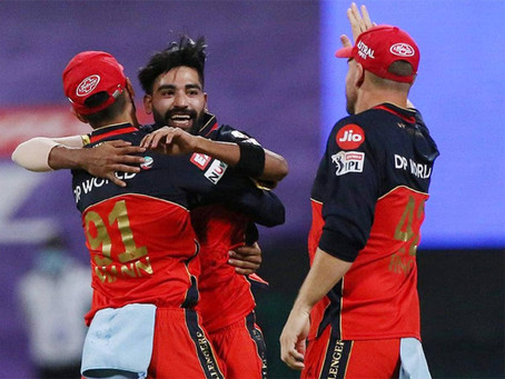 IPL 2020, KKR vs RCB: Mohammed Siraj dominates as RCB beat KKR by 8 wickets