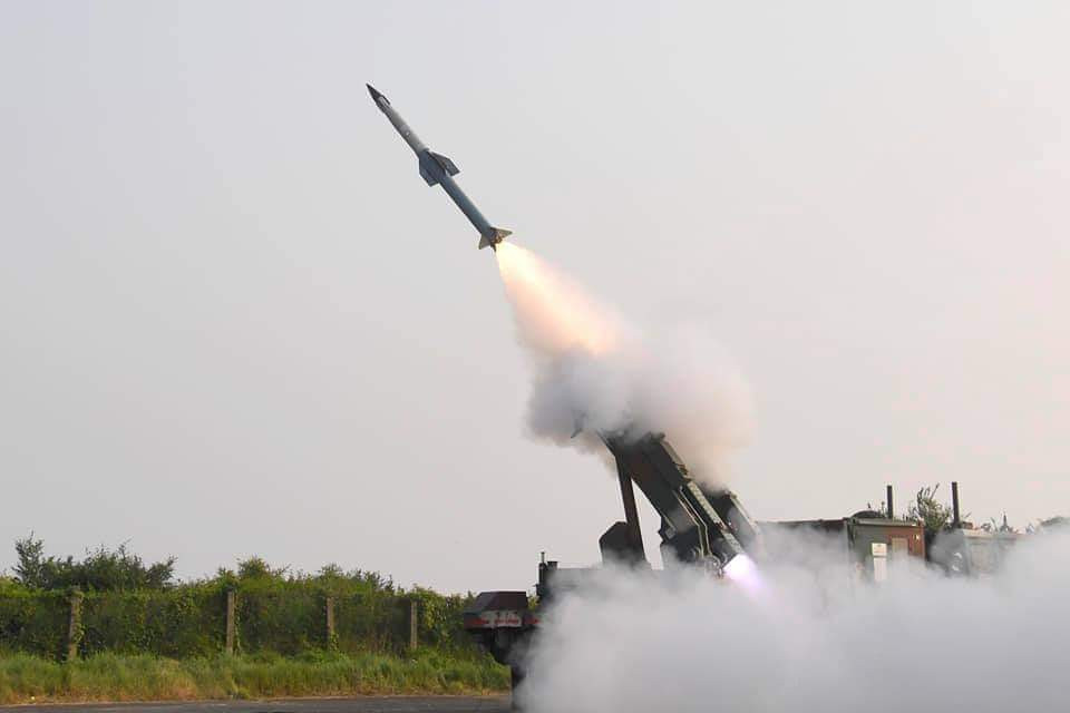 In yet another flight test, the Quick Reaction Surface to Air Missile (QRSAM) System tracked the target accurately and successfully neutralised the airborne target. The flight test, second in the series was conducted today at around 1542 hrs from the Integrated Test Range, Chandipur, off the coast of Odisha. The test was carried out once again, against the high-performance Jet Unmanned Aerial Target (UAV) called Banshee, which simulates an aircraft.