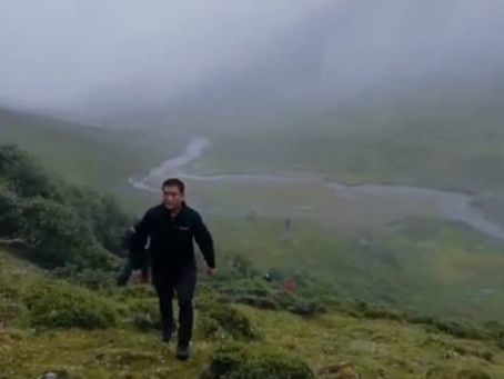 Watch Arunachal Pradesh CM trek for 11 hours to reach remote village residents