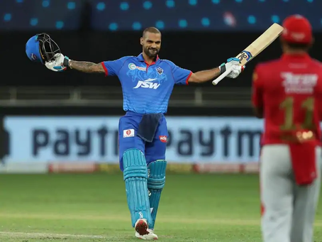 IPL 2020, KXIP vs DC: Shikhar Dhawan's undefeated ton fades as KXIP beat DC by 5 wickets