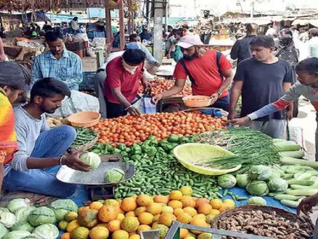 50% subsidy on air transportation of fruits & vegetables from North-Eastern and the Himalayan States