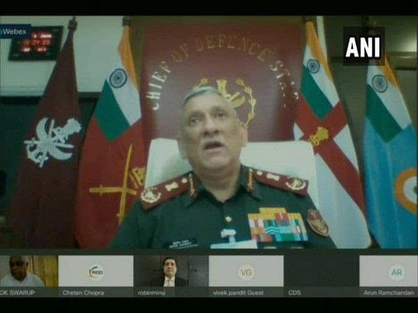 CDS General Bipin Rawat in FICCI webinar. 700% rise increase in Defence exports of India in last 3 years.