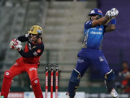 IPL 2020: MI vs RCB: Suryakumar Yadav blasts off MI to victory against RCB by 5 wickets