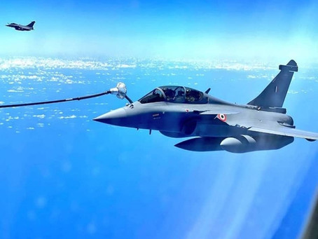 The second batch of Rafale jets arrive in India after a non-stop flight from France