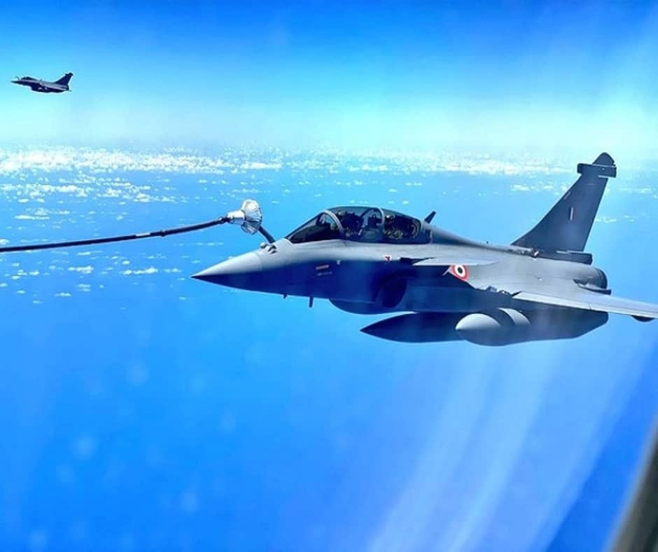 """In a big boost to Indian Air Force (IAF), three more Rafale jets have arrived from France on Wednesday after flying non-stop. IAF confirmed the news, """"The second batch of Rafale aircraft arrived today evening at 8:14 PM after flying non-stop from France""""."""
