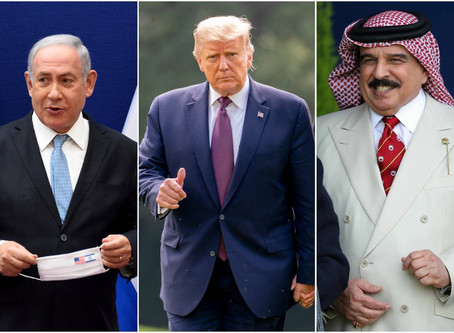After UAE, Bahrain will normalize ties with Israel  Donald Trump brokered the deal