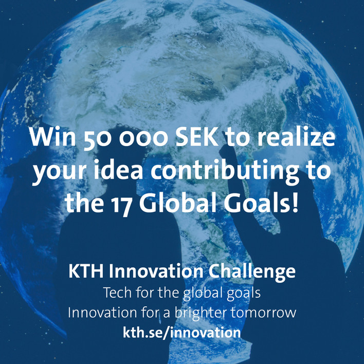 KTH Innovation has a challenge for you!