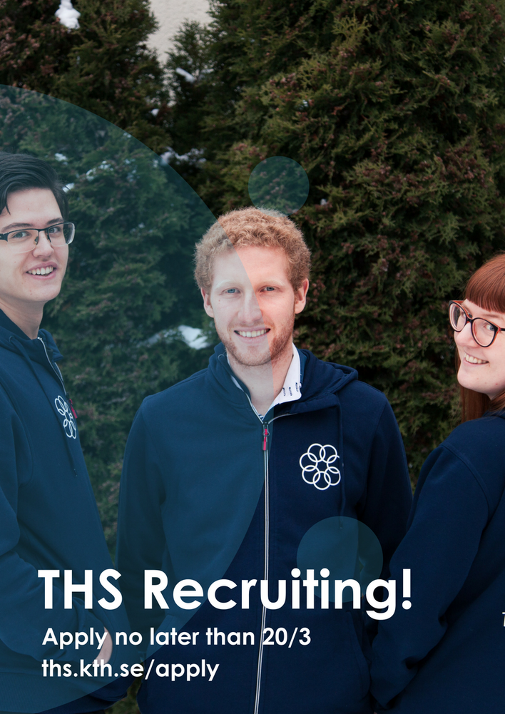 THS are recruiting for the Management Team!