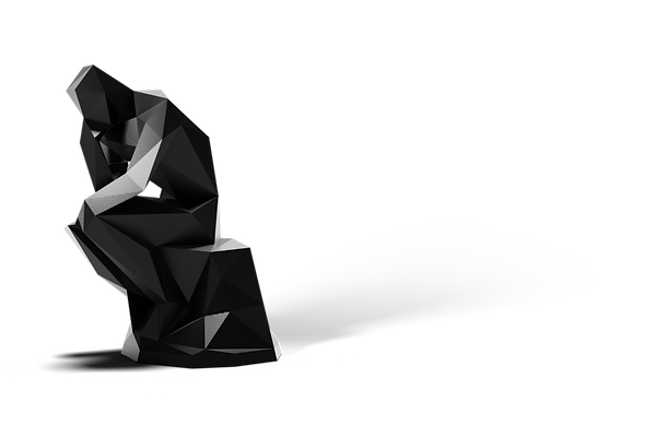 Low poly the thinker.png