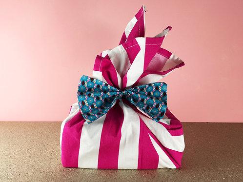 Tissu cadeau, différents motifs