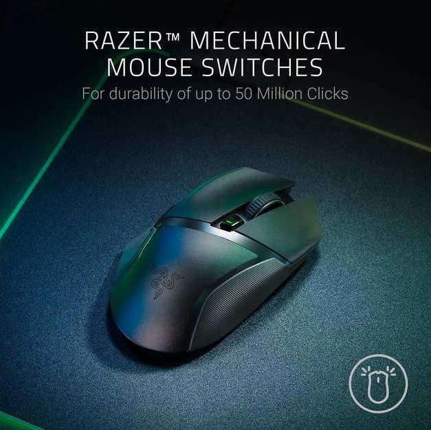 Razer Basilisk X HyperSpeed Wireless Gaming Mouse: