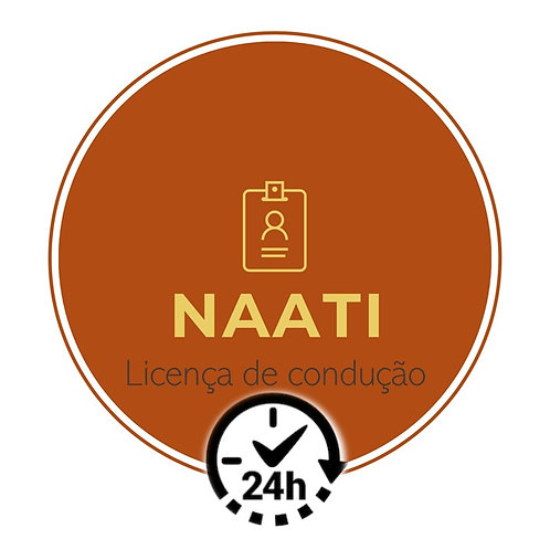 NAATI / CARTEIRA DE MOTORISTA (24 horas)