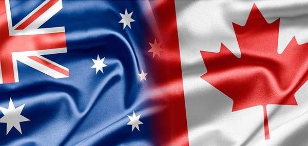 estudiante internacional - australia vs canada