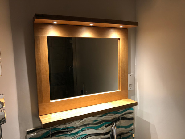 Bespoke Illuminated Mirror