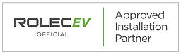 Rolec EV Official Installer Badge - Whit