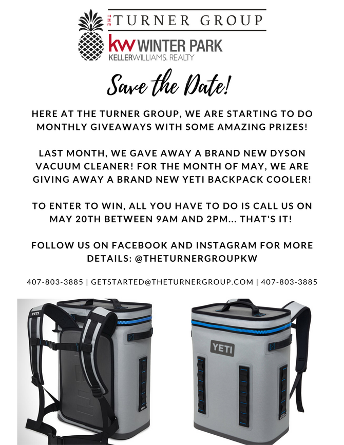 The Turner Group Giveaways!