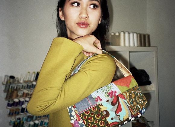 Patchwork Baguette Bag