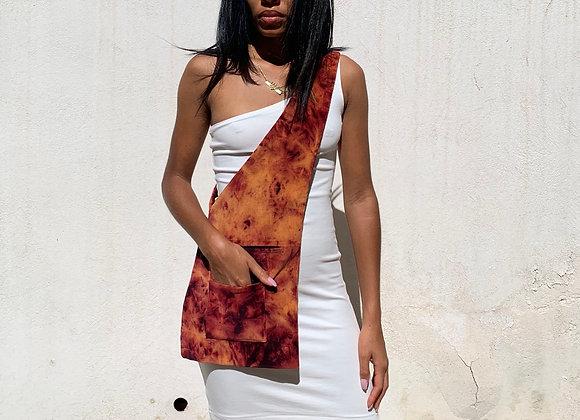 Flame Tie Dye Crossbody Bag