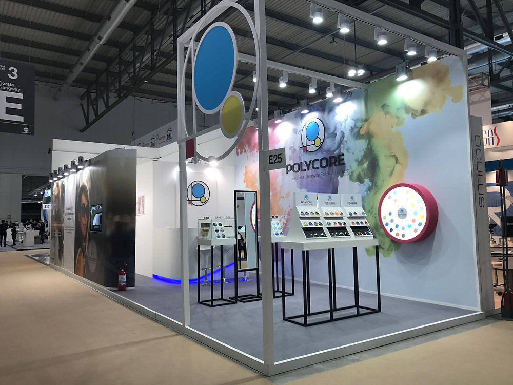 Polycore's new booth design