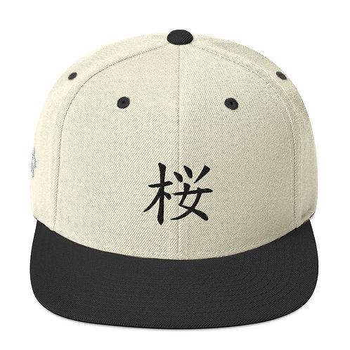 TOM KAI Sakura Collection Flat Bill Cap