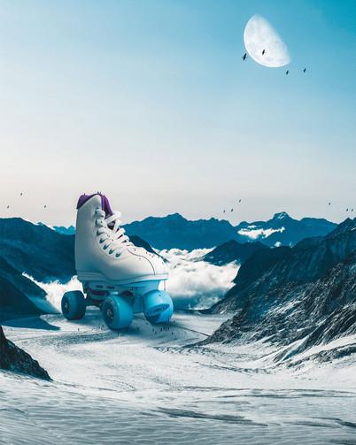 Big Skate by Tom Kai