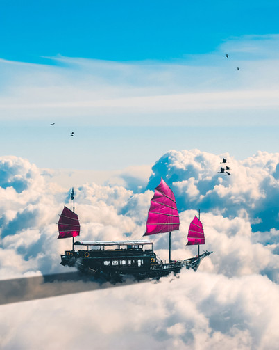 Sailing on Clouds by Tom Kai