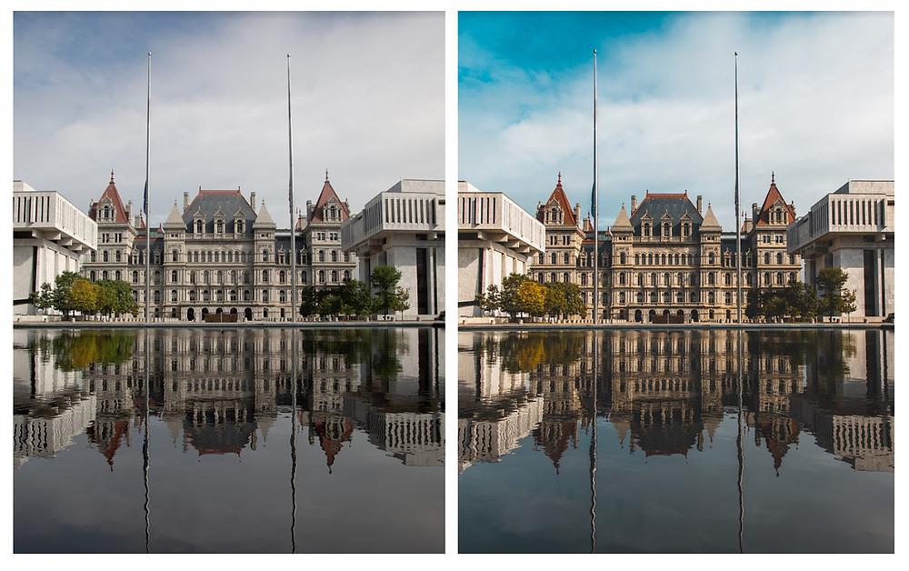 Before Preset (Left) --- After Preset (Right)