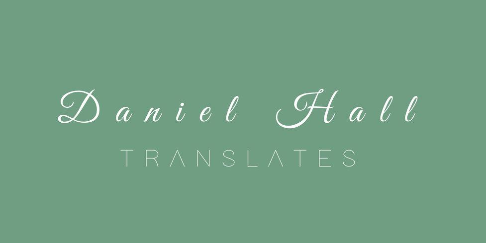 Daniel Hall Translates Logo 3