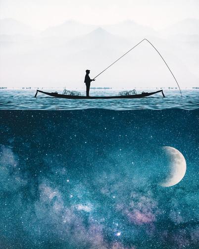 Gone Fishing by Tom Kai