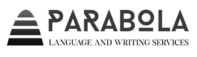 Parabola Language and Writing services logo 2