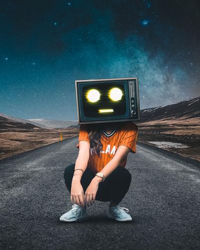 TV Head by Tom Kai