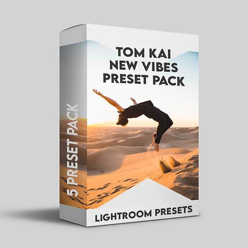 Tom Kai - New Vibes | 5 Pack Lightroom Preset