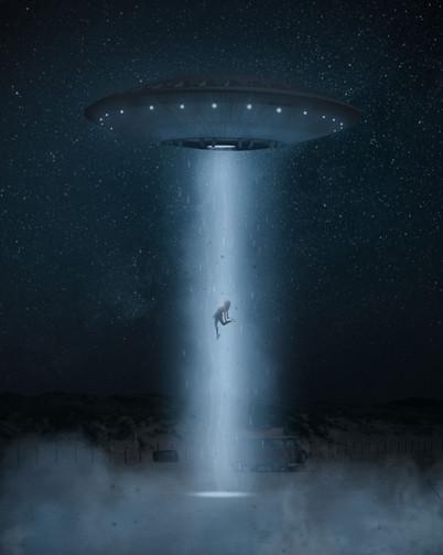 UFO Girl by Tom Kai