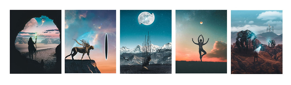 Here is just a tiny sample of some of my photo manipulation work that i've created in photoshop