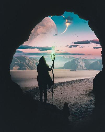 Alien Planet Wizard by Tom Kai