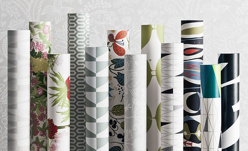 Lillian's Interiors, many wallpaper types