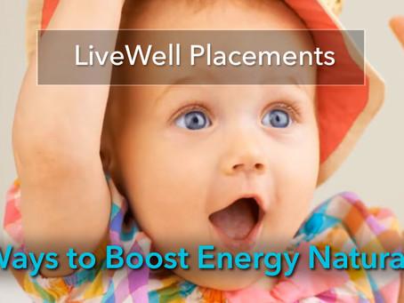 Six Ways Get an Energy Boost!