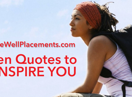Ten Quotes to Inspire You