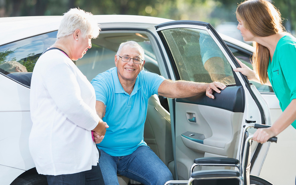 senior living referral south florida transportation