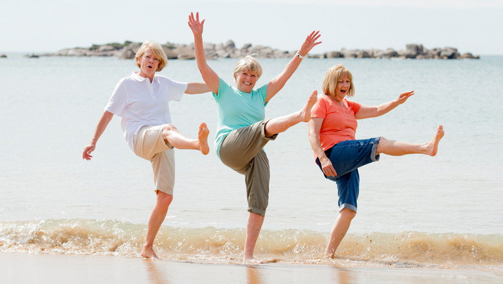 Female Baby Boomers living together