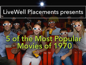 Five of the Most Popular Movies from 1970