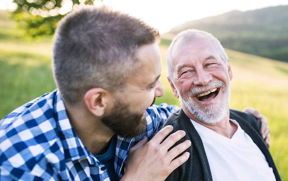 speaking with aging parent