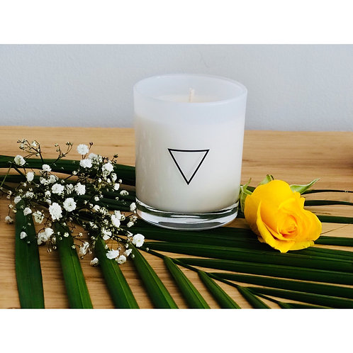Invoke Candle with Orange Blossom Vial