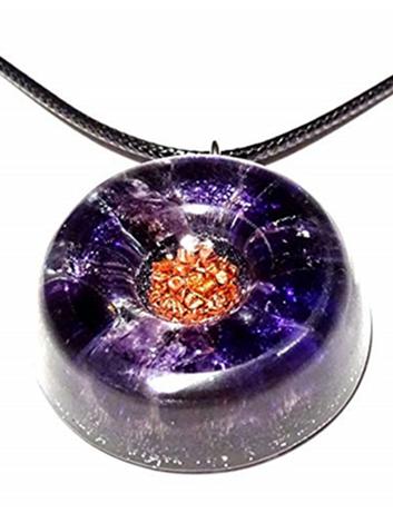 Amethyst Quartz Healing Stones Orgonite EMF Neutralizer Copper Core Orgone Collection
