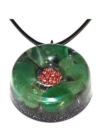 Green Aventurine Quartz Orgonite EMF Neutralizer Copper Core Orgone Collection
