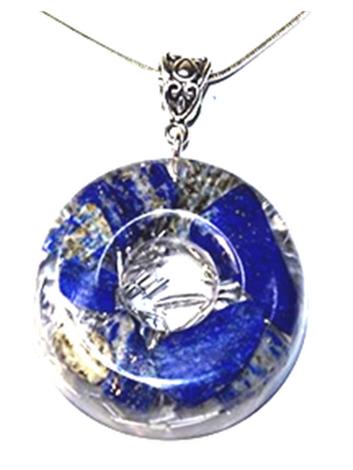 Handcrafted Lapis Lazuli and Aluminum Powerful Purifying Orgone