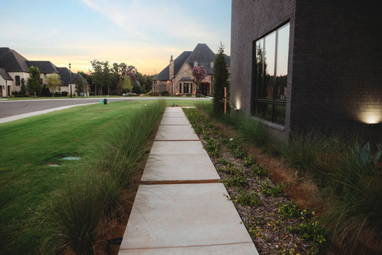 Landscape Design & Installation by Red Valley Landscape & Construction in Edmond, Ok